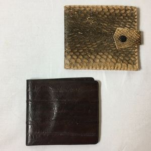 Vintage Men's Wallets (2 in lot)